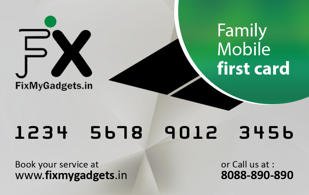 Family Mobile First Card