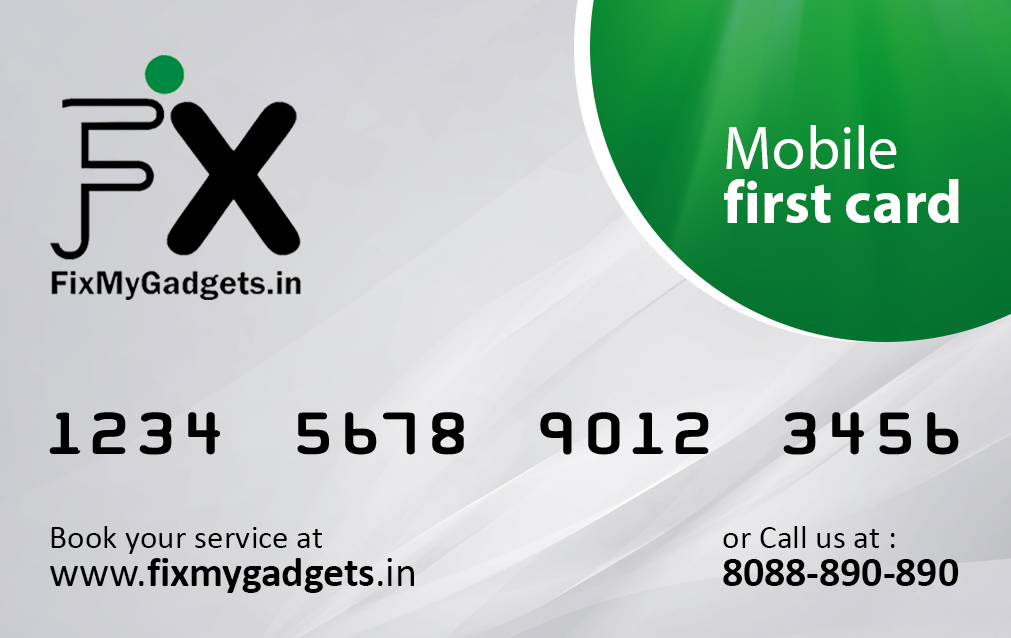 Mobile First Card